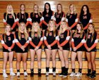 Asotin Panthers Girls Varsity Volleyball Fall 18-19 team photo.