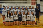 Plainview-Old Bethpage JFK Hawks Girls Varsity Volleyball Fall 18-19 team photo.