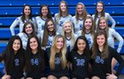 Olentangy Liberty Patriots Girls Varsity Volleyball Fall 18-19 team photo.