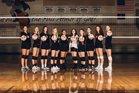Seattle Christian Warriors Girls Varsity Volleyball Fall 18-19 team photo.
