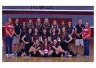 Tuscaloosa Christian Warriors Girls Varsity Volleyball Fall 18-19 team photo.