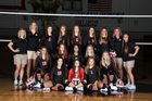 Burleson Elks Girls Varsity Volleyball Fall 18-19 team photo.