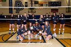 Dr. Phillips Panthers Girls Varsity Volleyball Fall 18-19 team photo.