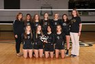 Tuscarawas Central Catholic Saints Girls Varsity Volleyball Fall 18-19 team photo.