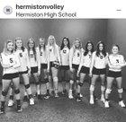 Hermiston Bulldogs Girls Varsity Volleyball Fall 18-19 team photo.
