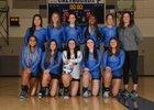 Pullman Greyhounds Girls Varsity Volleyball Fall 18-19 team photo.