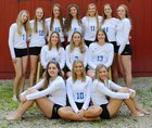 Germantown Warhawks Girls Varsity Volleyball Fall 18-19 team photo.