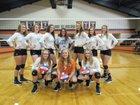 Gary Bobcats Girls Varsity Volleyball Fall 18-19 team photo.