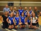 Tintic Miners Girls Varsity Volleyball Fall 18-19 team photo.