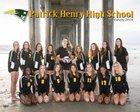 Patrick Henry Patriots Girls Varsity Volleyball Fall 18-19 team photo.