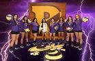 Runge Yellowjackets Girls Varsity Volleyball Fall 18-19 team photo.