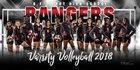 Terry Rangers Girls Varsity Volleyball Fall 18-19 team photo.