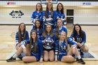 Brevard Blue Devils Girls Varsity Volleyball Fall 18-19 team photo.