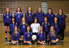 Onalaska Hilltoppers Girls Varsity Volleyball Fall 18-19 team photo.