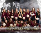 Osborne Bulldogs Girls Varsity Volleyball Fall 18-19 team photo.