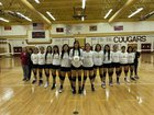 Tohatchi Cougars Girls Varsity Volleyball Fall 18-19 team photo.