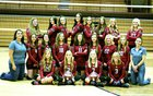 North Sevier Wolves Girls Varsity Volleyball Fall 18-19 team photo.