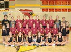 New Bremen Cardinals Girls Varsity Volleyball Fall 18-19 team photo.