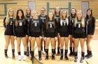 South Johnston Trojans Girls Varsity Volleyball Fall 18-19 team photo.