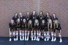 Oconomowoc Raccoons Girls Varsity Volleyball Fall 18-19 team photo.