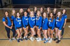 Valley Christian Trojans Girls Varsity Volleyball Fall 18-19 team photo.