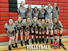 Snohomish Panthers Girls Varsity Volleyball Fall 18-19 team photo.