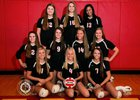 Incarnate Word Academy Red Knights Girls Varsity Volleyball Fall 18-19 team photo.
