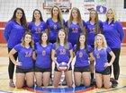 Owen Valley Patriots Girls Varsity Volleyball Fall 18-19 team photo.
