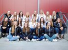 Belt Huskies Girls Varsity Volleyball Fall 18-19 team photo.