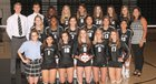 Bishop Lynch Friars Girls Varsity Volleyball Fall 18-19 team photo.