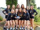 Castle Knights Girls Varsity Volleyball Fall 18-19 team photo.