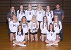 Lake Stevens Vikings Girls Varsity Volleyball Fall 18-19 team photo.