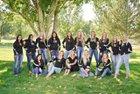 Aztec Tigers Girls Varsity Volleyball Fall 18-19 team photo.