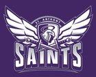 St. Anthony Saints Girls Varsity Volleyball Fall 18-19 team photo.