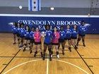 Brooks Eagles Girls Varsity Volleyball Fall 18-19 team photo.
