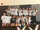 Coastal Academy  Girls Varsity Volleyball Fall 18-19 team photo.