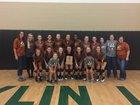 Caldwell Hornets Girls Varsity Volleyball Fall 18-19 team photo.