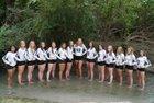 Navarro Panthers Girls Varsity Volleyball Fall 18-19 team photo.