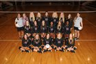 Benton Panthers Girls Varsity Volleyball Fall 18-19 team photo.
