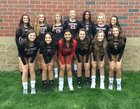 Bedford Bulldogs Girls Varsity Volleyball Fall 18-19 team photo.