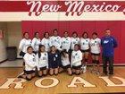 Walatowa Charter Cougars Girls Varsity Volleyball Fall 18-19 team photo.