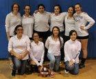Evangel Christian Academy Eagles Girls Varsity Volleyball Fall 18-19 team photo.