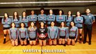 North Side Steers Girls Varsity Volleyball Fall 18-19 team photo.