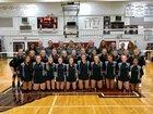 Niceville Eagles Girls Varsity Volleyball Fall 18-19 team photo.