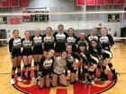 Prospect Mountain Timberwolves Girls Varsity Volleyball Fall 18-19 team photo.