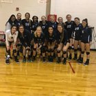 Little Rock Christian Academy Warriors Girls Varsity Volleyball Fall 18-19 team photo.