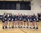 Warren Dragons Girls Varsity Volleyball Fall 18-19 team photo.