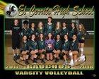 El Cerrito Gauchos Girls Varsity Volleyball Fall 18-19 team photo.