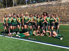 Monterey Toreadores Girls Varsity Field Hockey Fall 18-19 team photo.