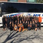 Mamaroneck Tigers Girls Varsity Field Hockey Fall 18-19 team photo.